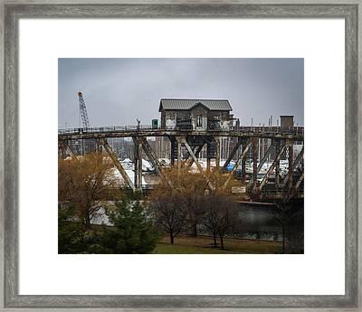 House Bridge Framed Print