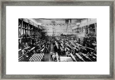 House Of Krupp Framed Print by Hulton Archive