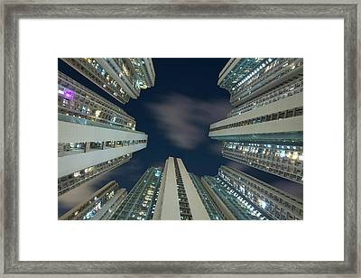 Housing Framed Print by Thank You For Choosing My Work.