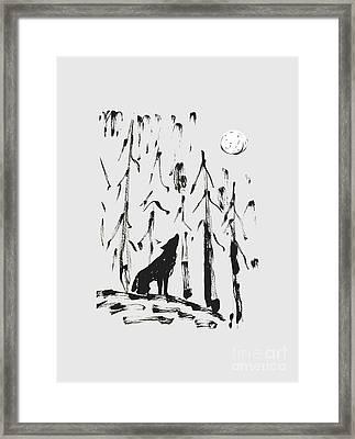 Howl #2 Framed Print