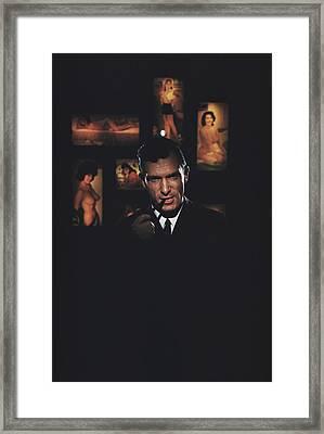 Hugh Hefner Framed Print