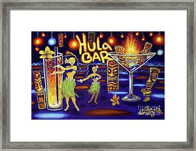 Hula Bar Framed Print