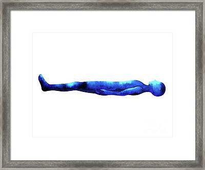 human lie down sleeping pose abstract body watercolor