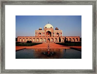 Humayuns Tomb, Delhi Framed Print by Kelly Cheng Travel Photography