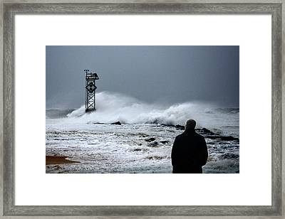 Framed Print featuring the photograph Hurricane Watch by Bill Swartwout Fine Art Photography