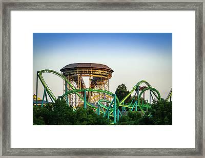 Hydra At Dorney Park Framed Print