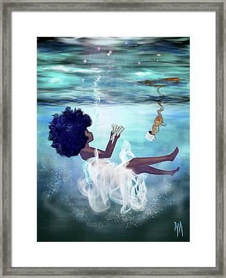 I Aint Drowning Framed Print