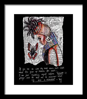 Love Drawings Framed Prints