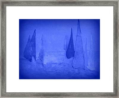 I Am Sailing 2 Framed Print