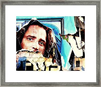 I Am Watching You Framed Print