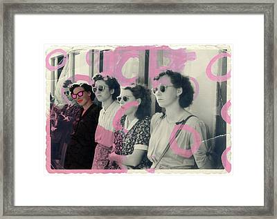 I Believe In Pink Framed Print