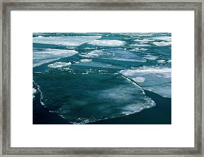 Ice 2 Framed Print