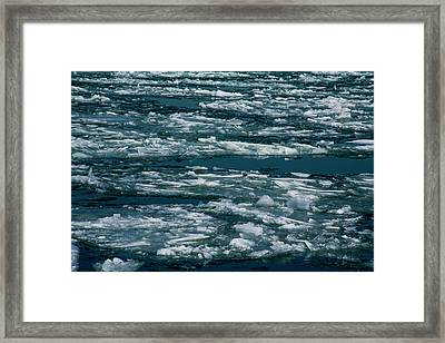 Ice Cold With Filter Framed Print
