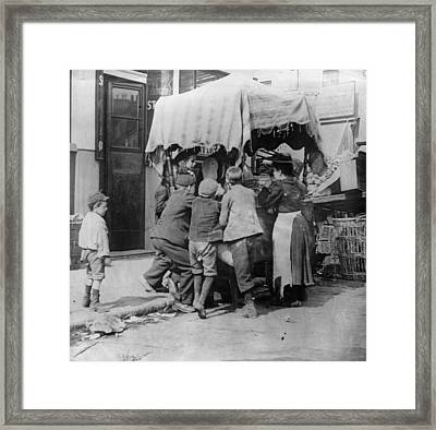 Ice-cream Selling Framed Print by Paul Martin