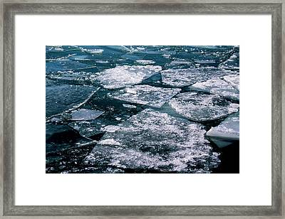Ice Framed Print