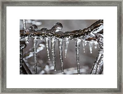 Ice9 Framed Print