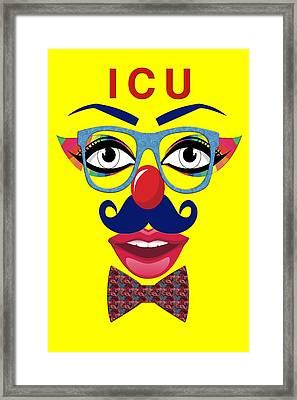 ICU Framed Print