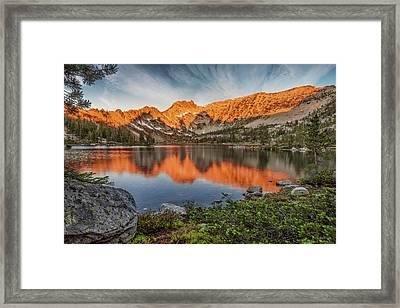 Idaho Wilderness Framed Print by Leland D Howard