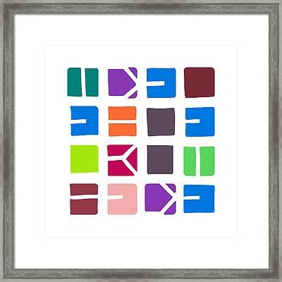 Idel... Colour Framed Print