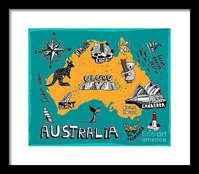 Canberra Framed Prints