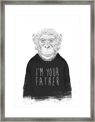 I'm Your Father Framed Print