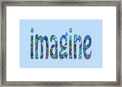 Imagine 1008 Framed Print