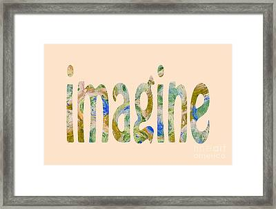Imagine 1009 Framed Print