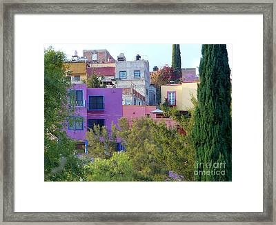 Framed Print featuring the photograph Imagine This by Rosanne Licciardi