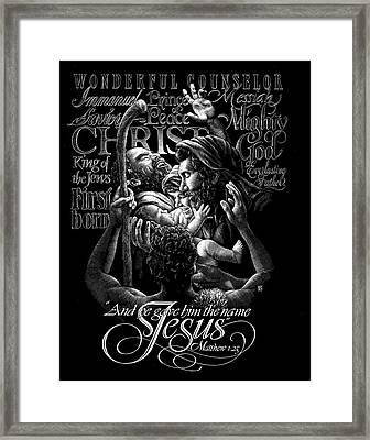 Immanuel Framed Print