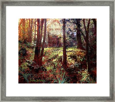 In Him We Live, And Move, And Have Our Being Framed Print
