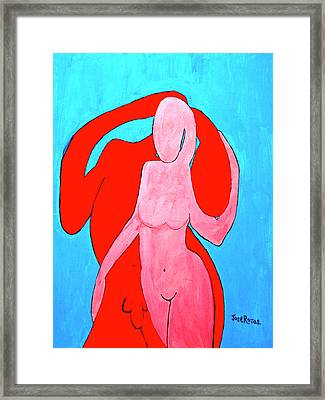 In Love Framed Print