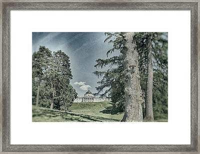 In Old Park. Kachanivka, 2017. Framed Print