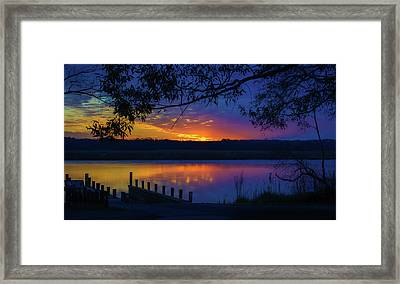 Framed Print featuring the photograph In The Blink Of An Eye by Cindy Lark Hartman