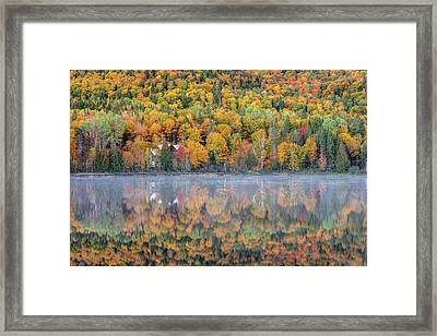 Framed Print featuring the photograph In The Heart Of Autumn by Pierre Leclerc Photography