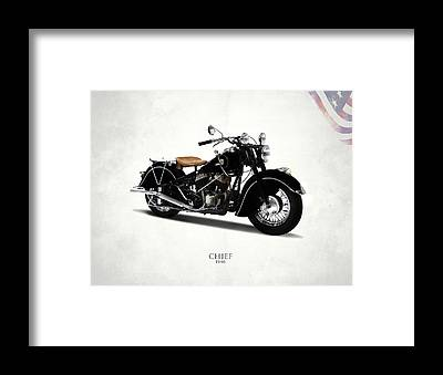 Motorcycles Framed Prints
