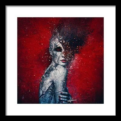 Emptiness Digital Art Framed Prints