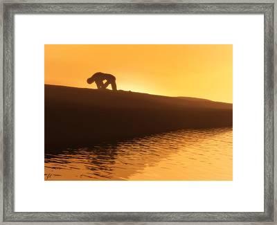 Indomitable Framed Print