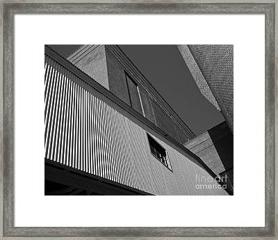 Framed Print featuring the photograph Industrial Abstract by Patrick M Lynch