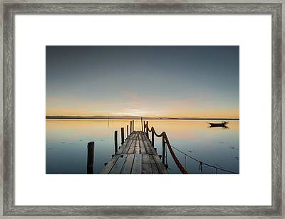 Framed Print featuring the photograph Infinity by Bruno Rosa