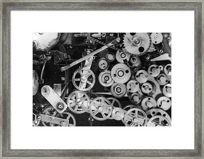 Inner Workings Framed Print by Graphic House