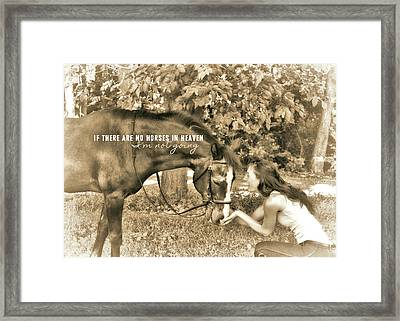 Instant Message Quote Framed Print by JAMART Photography
