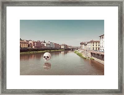 Interloping, Florence Framed Print