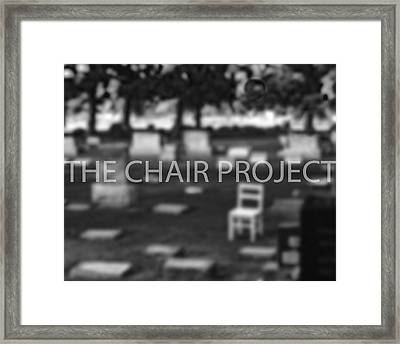 Invitation / The Chair Project Framed Print