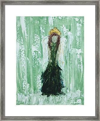Irish Angel  Framed Print