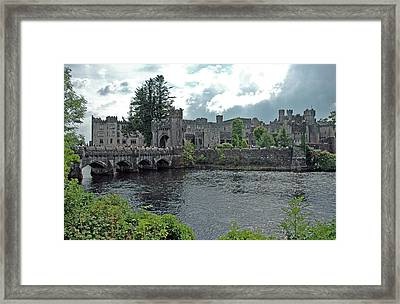 Framed Print featuring the photograph Irish Castle by Mark Duehmig