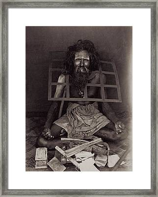 Iron Collar Framed Print by Hulton Archive