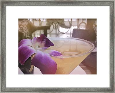 Island Happy Hour Framed Print by JAMART Photography