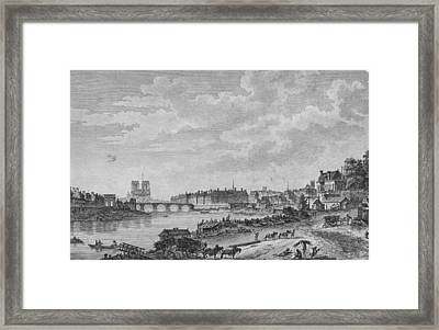 Islands Of Paris Framed Print by Hulton Archive