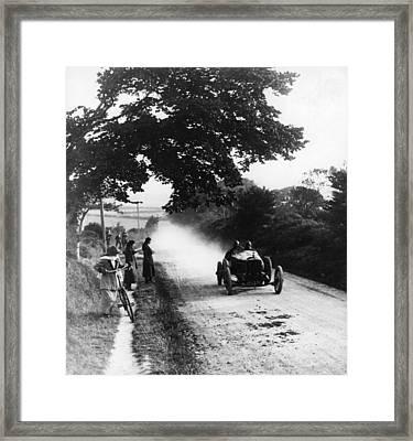 Isle Of Man Tt Framed Print by Hulton Archive