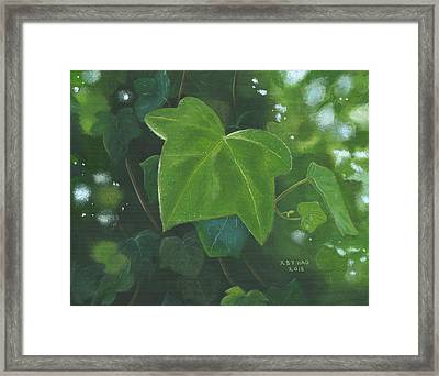 Ivy Waltz Framed Print